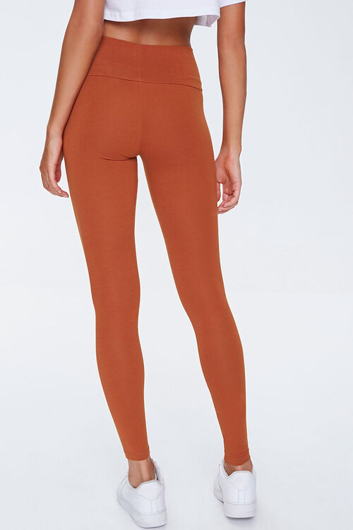 Basic Cotton-Blend Leggings, image 4