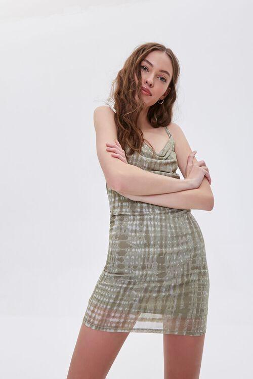 Abstract Print Cami Mini Dress, image 2