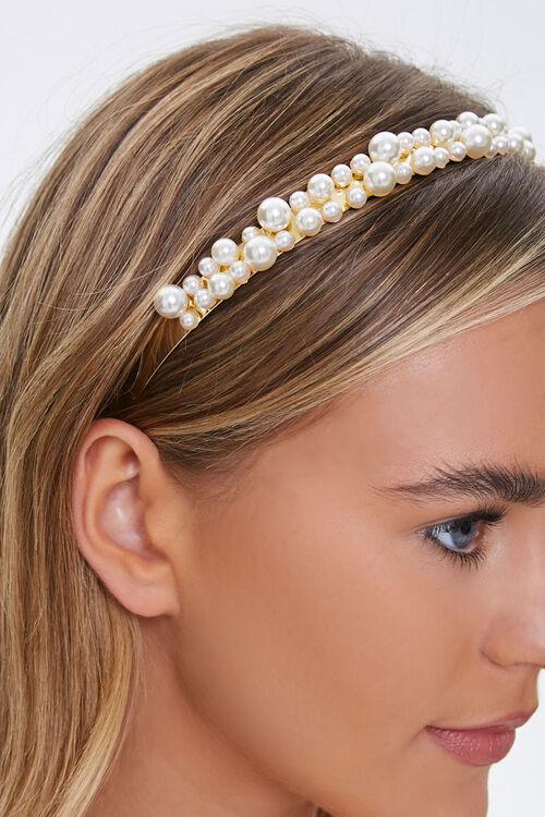 Faux Pearl Headband, image 2