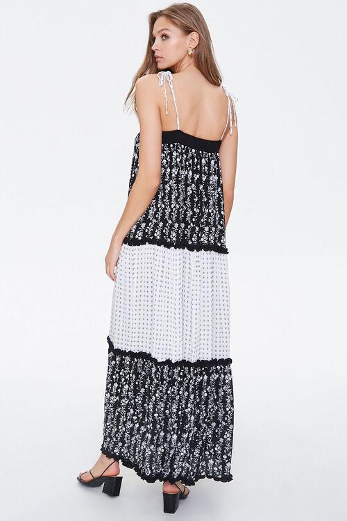 Patternblock Tasseled Maxi Dress, image 3