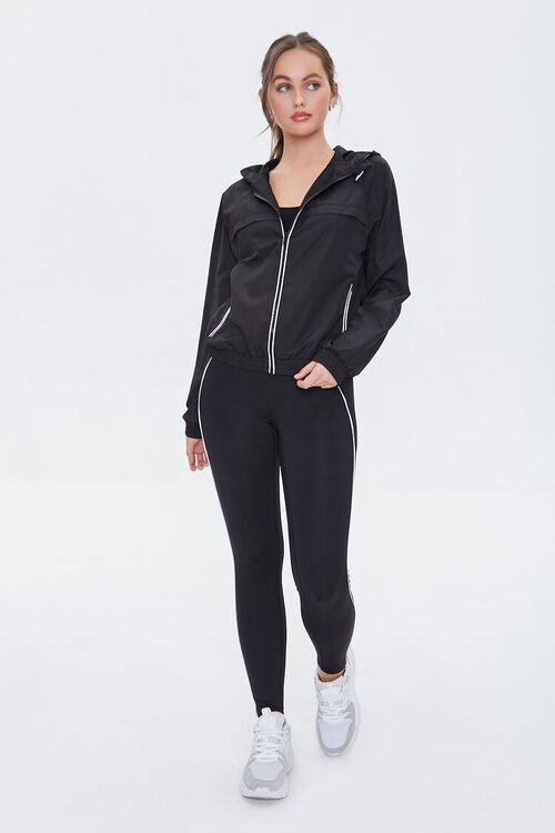 Active Piped Zip-Up Jacket, image 4