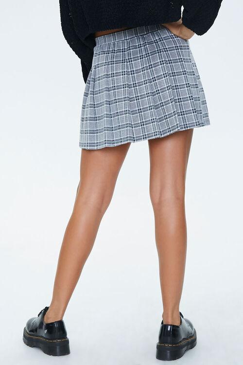 Pleated Houndstooth Mini Skirt, image 4