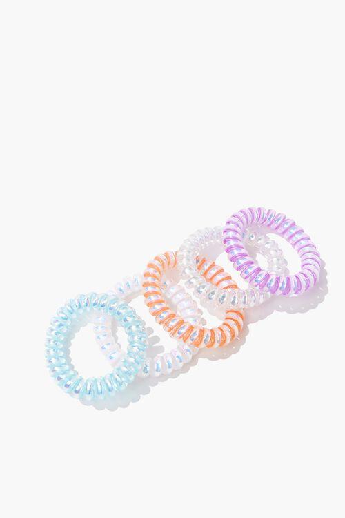 Jelly Spiral Hair Tie Set, image 2