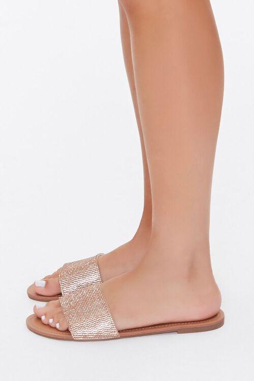 Rhinestone Flat Sandals, image 3