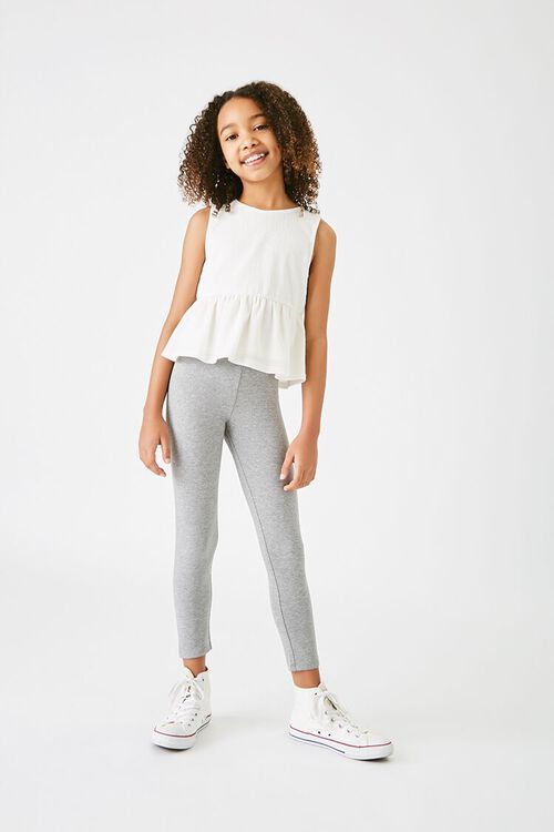Girls Organically Grown Cotton Leggings (Kids), image 1
