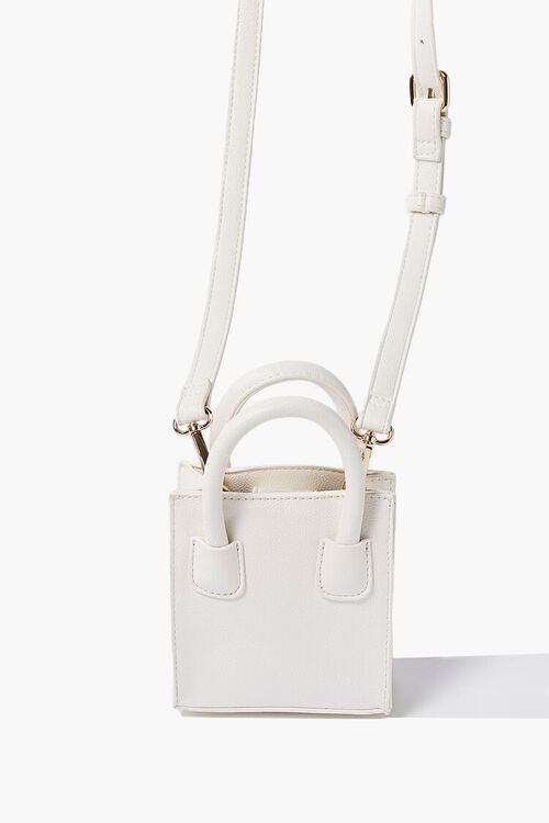 Mini Faux Leather Crossbody Bag, image 3