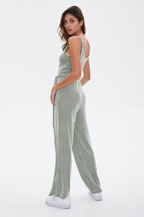 Ribbed Pinstriped Jumpsuit, image 3