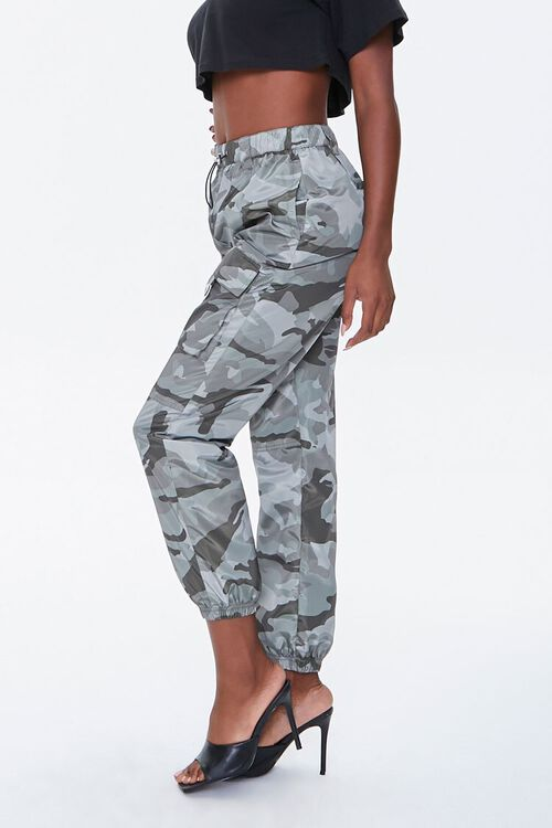 Camo Cargo Ankle Joggers, image 2