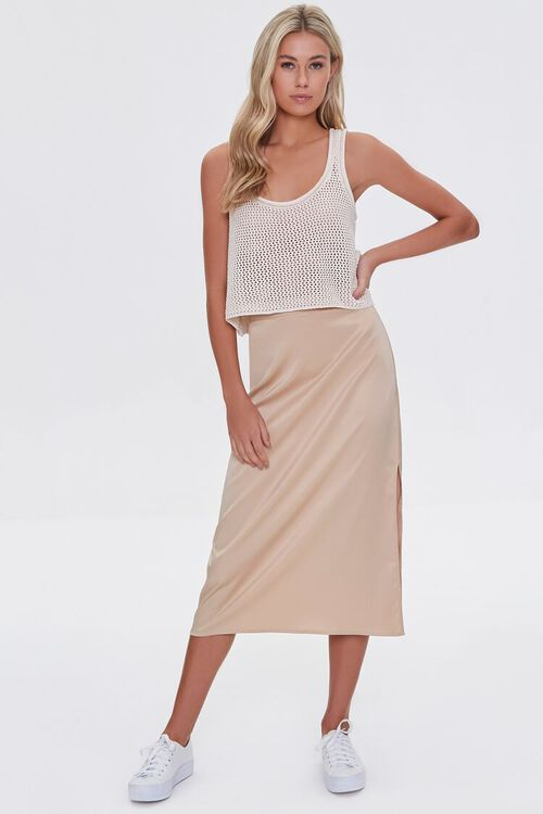 Sheer Netted Tank Top, image 4