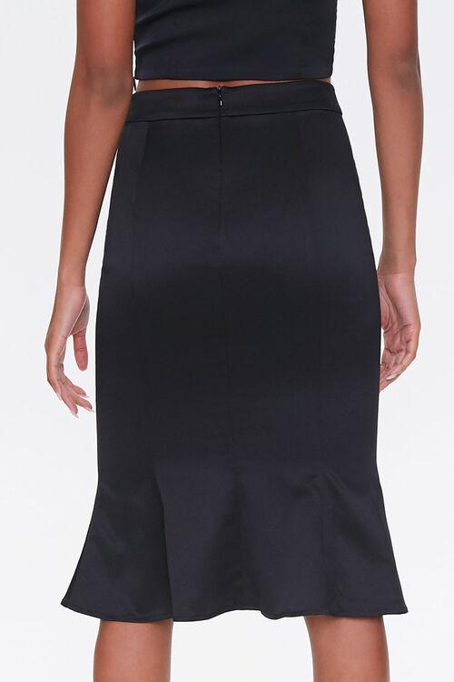 Fluted Knee-Length Skirt, image 4