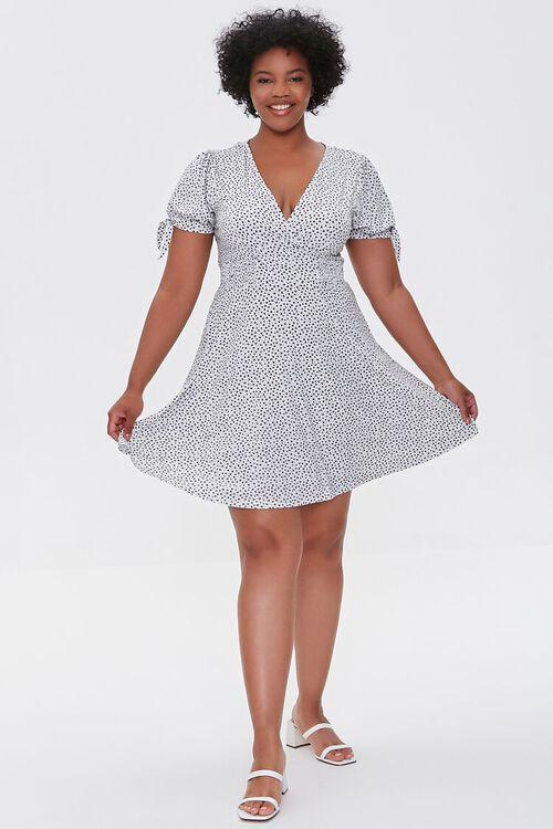 Plus Size Polka Dot Dress, image 4