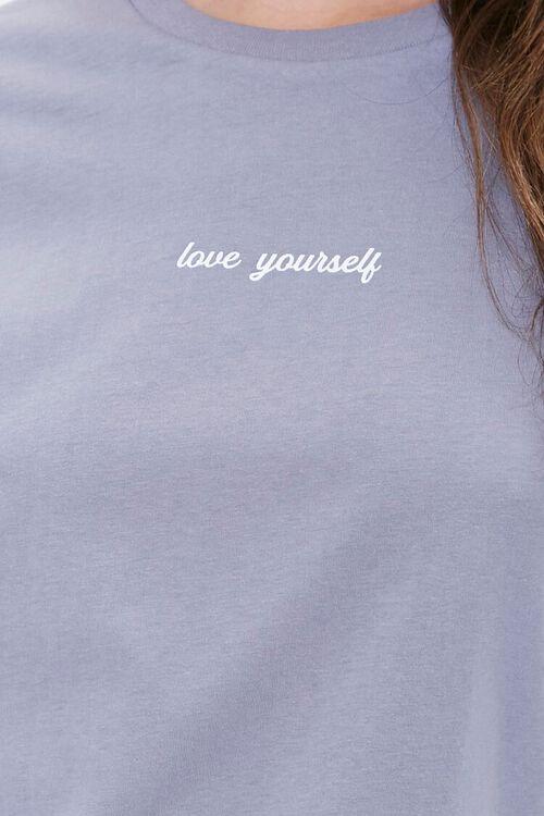 CHARCOAL Love Yourself Graphic Sleep Set, image 4