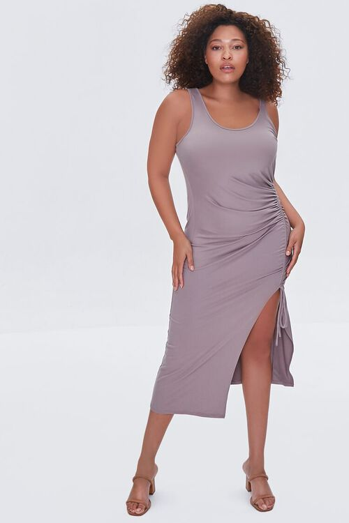Plus Size Ruched Bodycon Dress, image 4