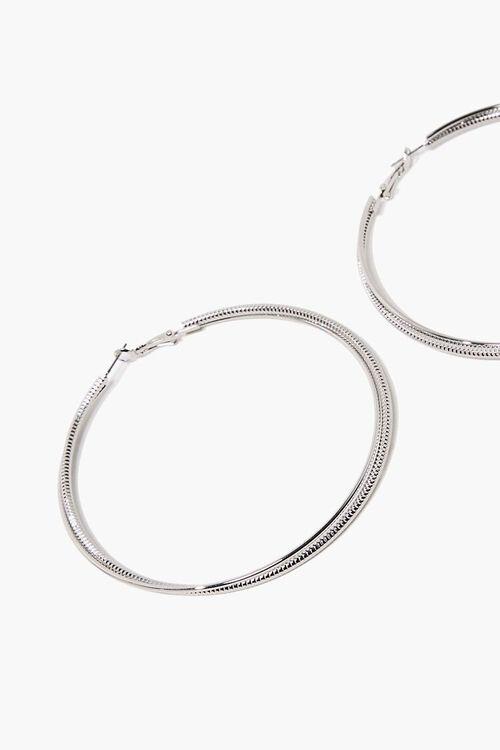 Etched Hoop Earrings, image 2