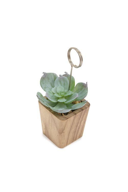 Succulent Photo Holder, image 4