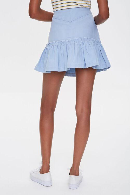 Lace-Up Flounce-Trim Skirt, image 4