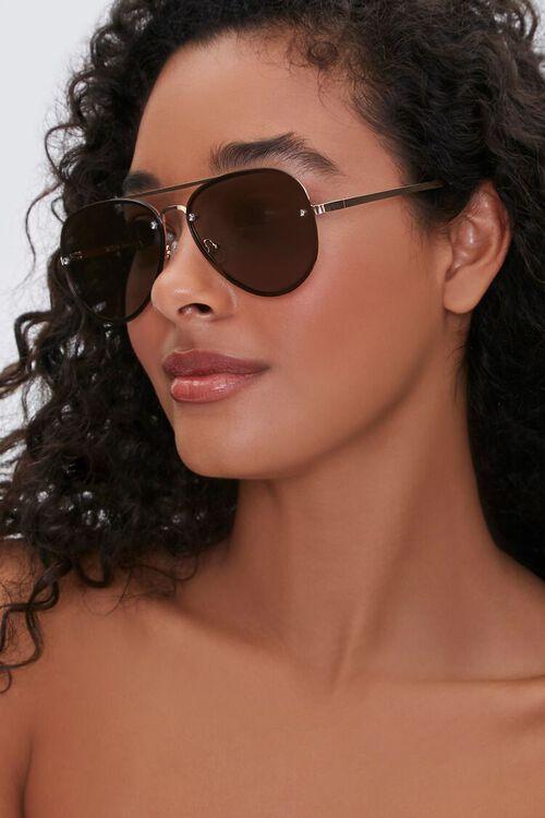 Metal Aviator Sunglasses, image 1