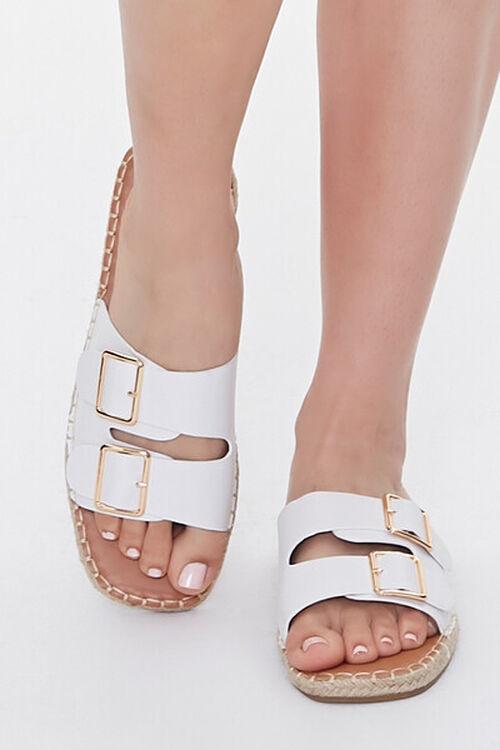 Buckled Espadrille Sandals, image 4