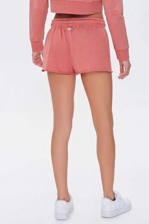 FADED ROSE Active French Terry Shorts, image 4