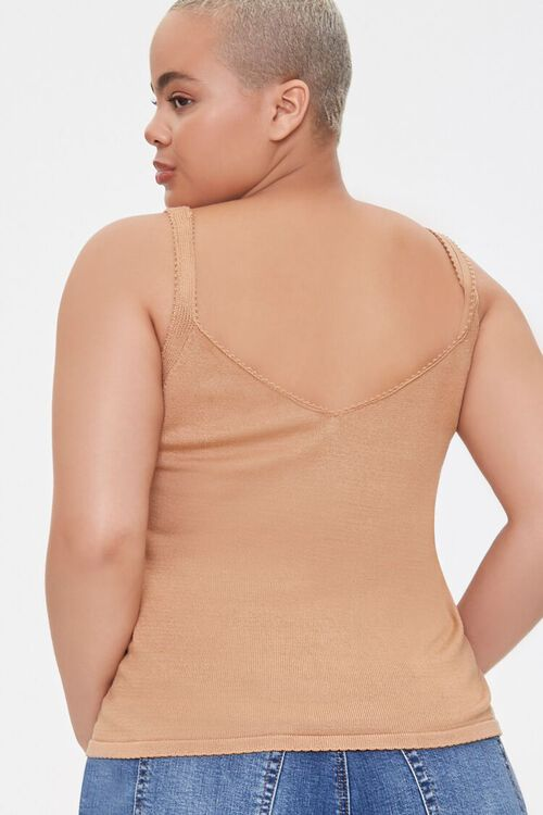 Plus Size Sweater-Knit Cami, image 3