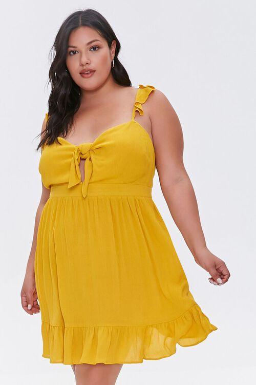 Plus Size Ruffle-Trim Dress, image 5