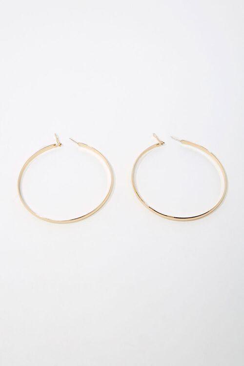 High-Polish Hoop Earrings, image 1