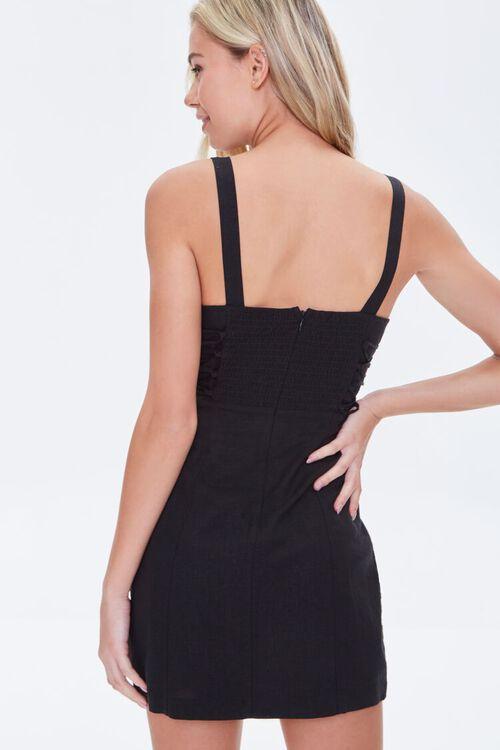 Lace-Up Mini Dress, image 3