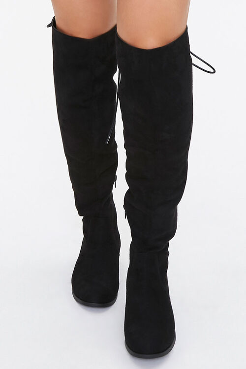 Lace-Up Knee-High Boots, image 4