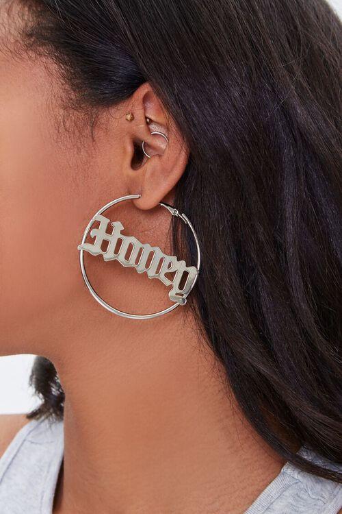 Honey Hoop Earrings, image 1