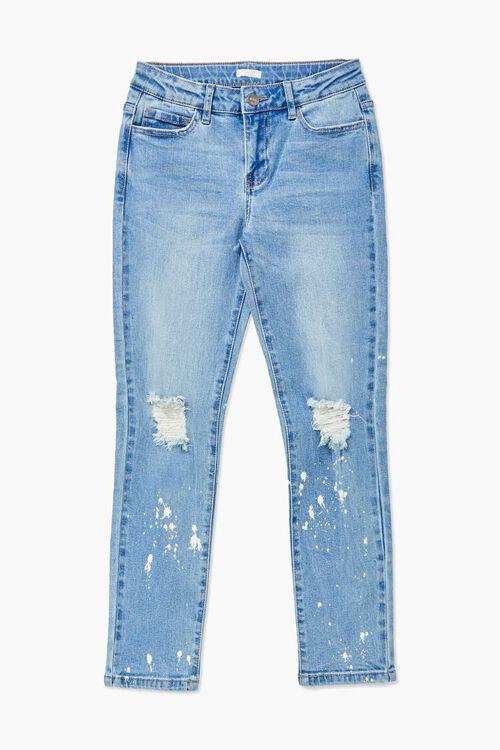 Girls Paint Splatter Jeans (Kids), image 1