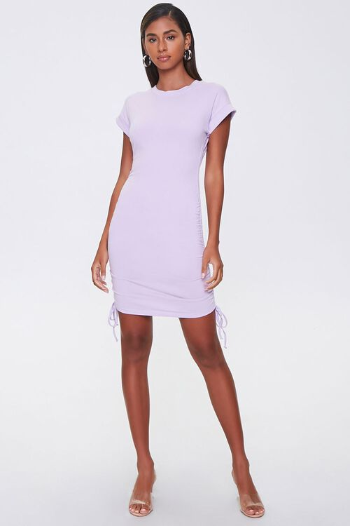 Drawstring T-Shirt Dress, image 4