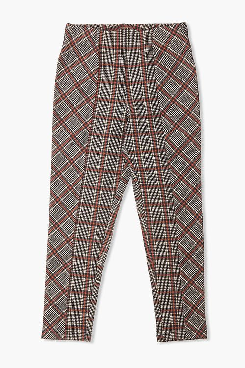 Girls Glen Plaid Ankle Pants (Kids), image 1