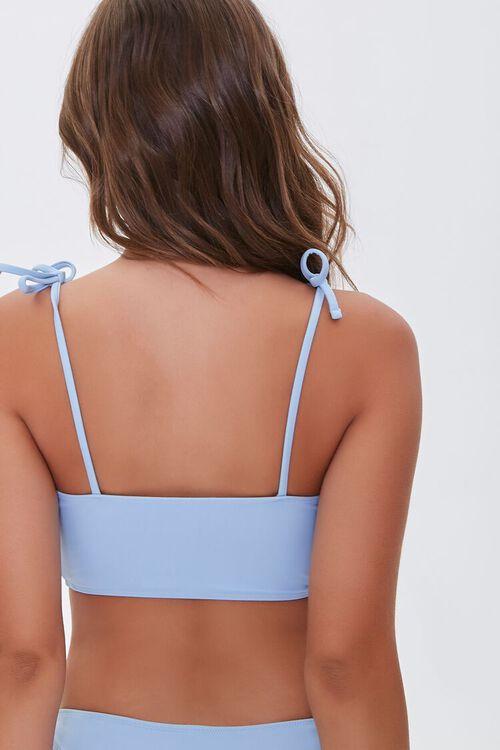 Self-Tie Bralette Bikini Top, image 3