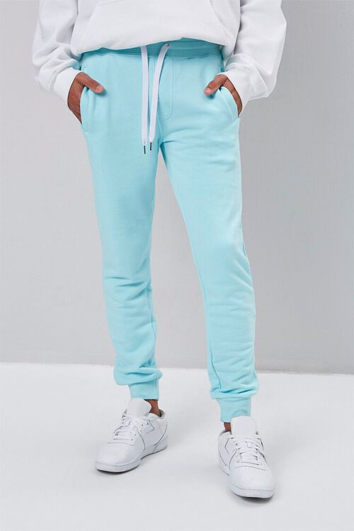 French Terry Knit Joggers, image 1