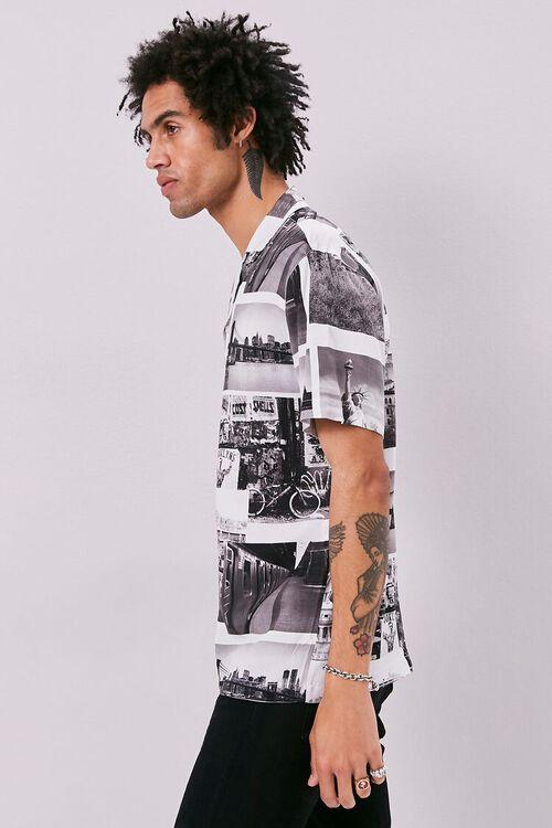 Classic Fit New York Print Shirt, image 2