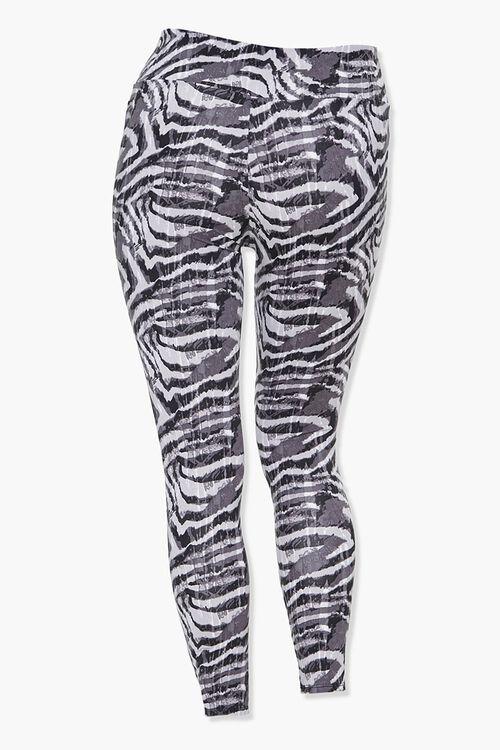 Plus Size Active Zebra Leggings, image 3