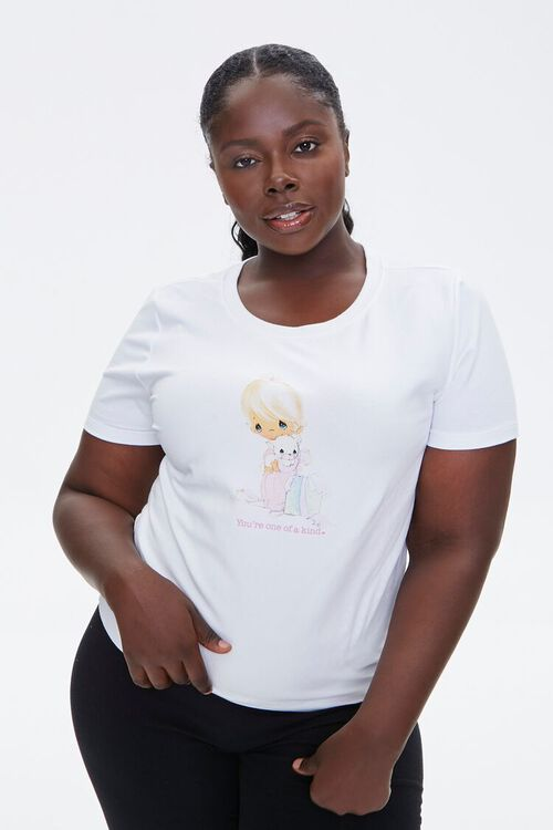 Plus Size Precious Moments Graphic Tee, image 1