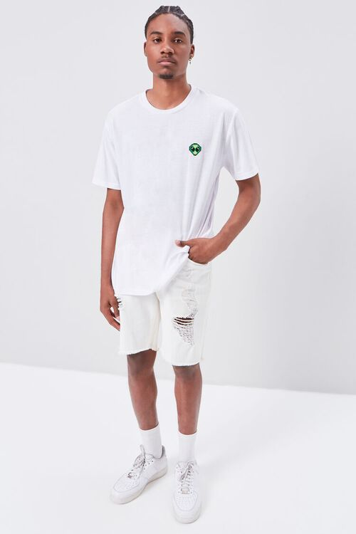 Alien Embroidered Graphic Tee, image 4