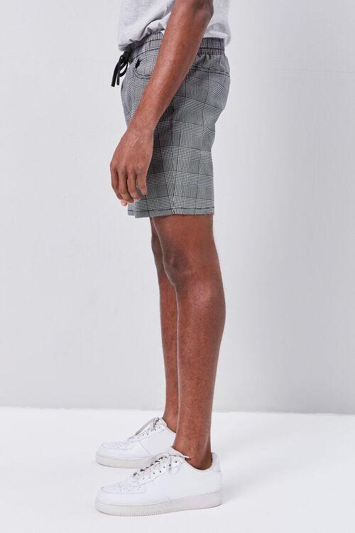 Glen Plaid Drawstring Shorts, image 3