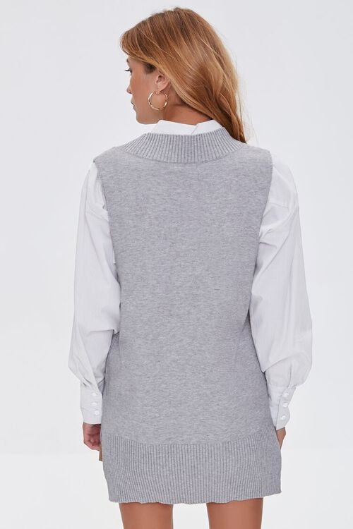 High-Low Sweater Vest, image 3