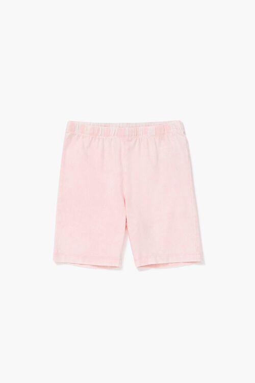 Girls Marled Biker Shorts (Kids), image 1