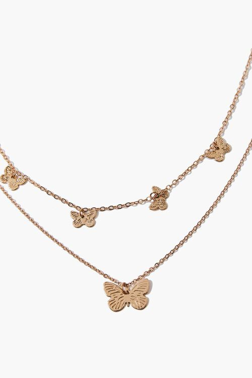Butterfly Layered Necklace, image 3