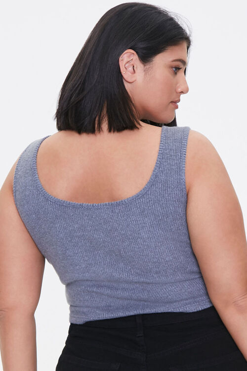Plus Size Cropped Tank Top, image 3