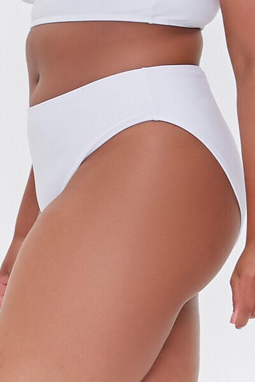Plus Size Cheeky Bikini Bottoms, image 3