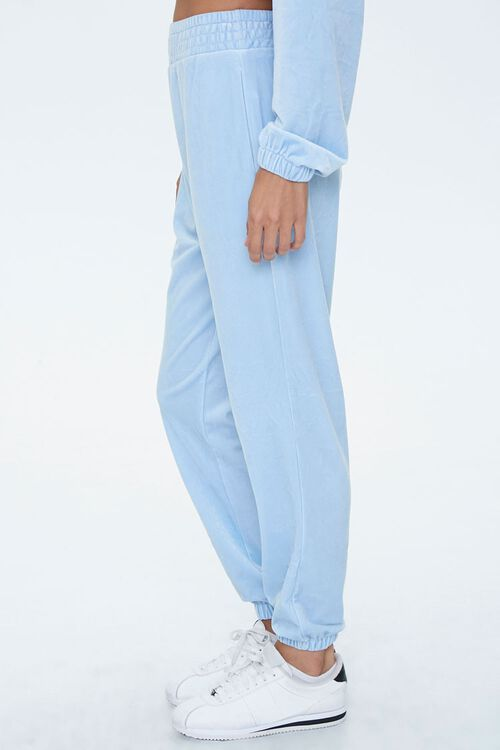 Velour High-Rise Joggers, image 3