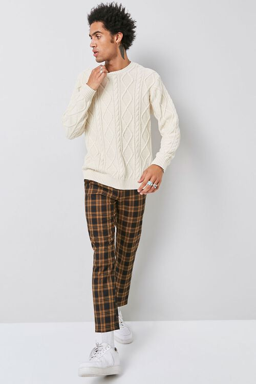 Cable-Knit Crew Neck Sweater, image 4