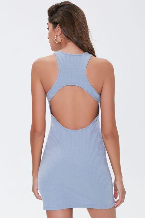 Ribbed Cutout Mini Dress, image 4