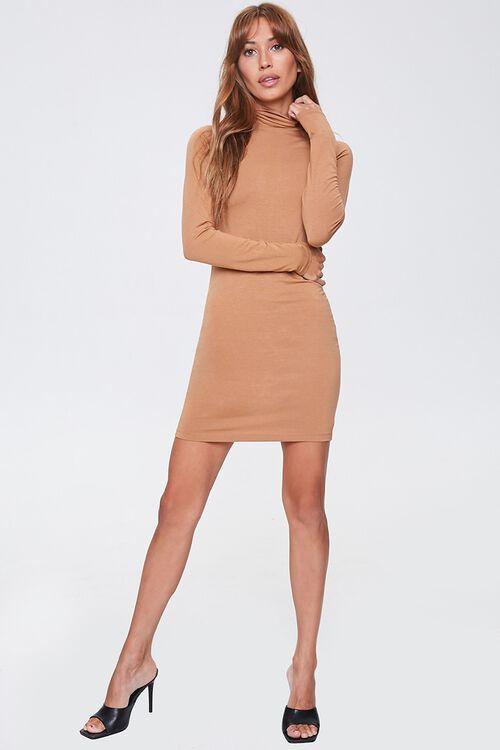 Turtleneck Mini Dress, image 4