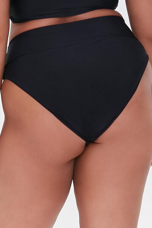 Plus Size High-Waist Bikini Bottoms, image 4