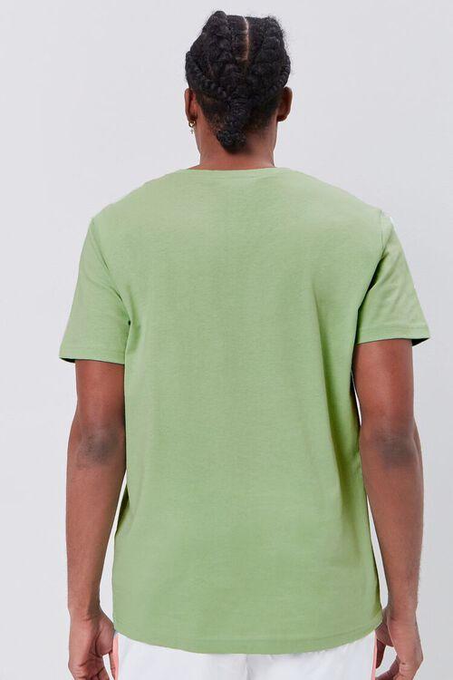 Basic Organically Grown Cotton V-Neck Tee, image 3